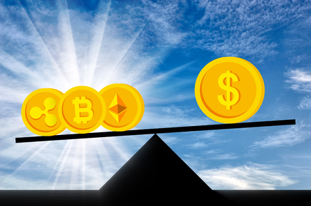 Crypto Currency In Priority Against The Background Of The Dollar