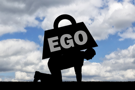 A man can barely crawl with a heavy load called ego on his back. The concept of the ego as a habit interfering with a full life