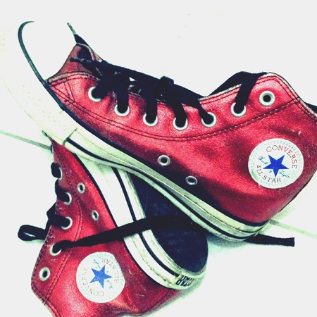 converse: Pair of Converse sneakers