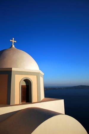 Santorini Iglesia