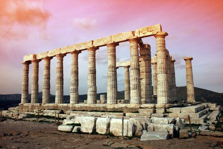 Temple of Poseidon - Cape Sounio, Greece