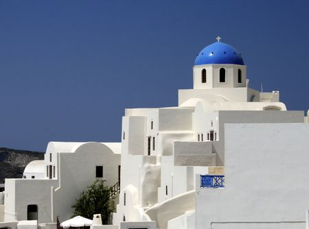 Detalles arquitect�nicos de Santorini - Grecia