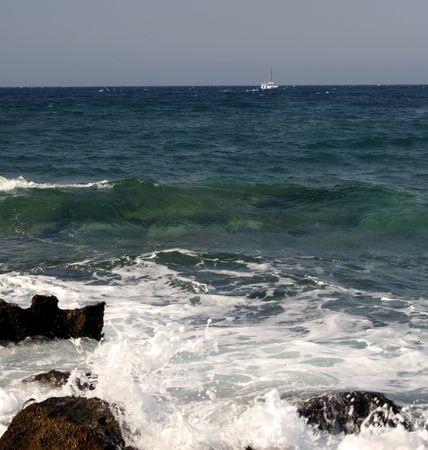 Crashing Waves - Paros, Greece Stock Photo - 1988249