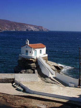 Greek orhtodox church - Andros Island, greece