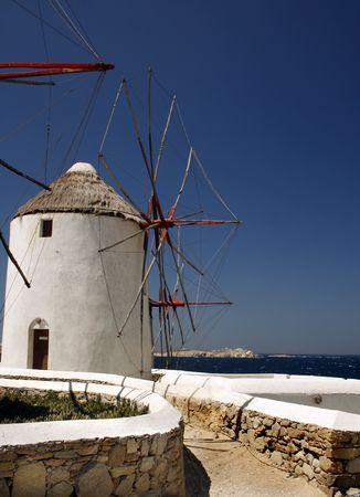 Mykonos windmill - Greece Stock Photo - 2017722
