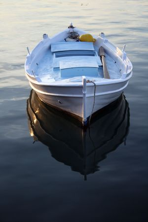 nauplio: A traditional greek fishing boat  - Nauplio, Greece