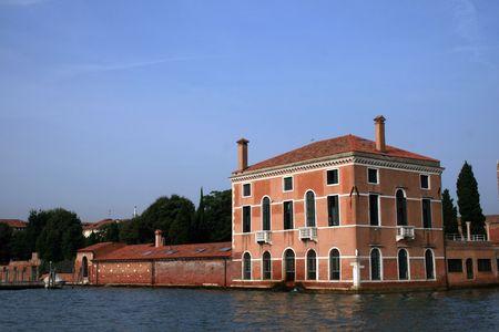 VIlla from the island of Murano, near Venice, Italy Stock Photo - 3695464