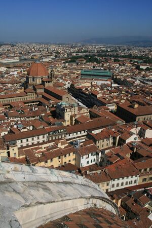 View of Florence from the Duomo!