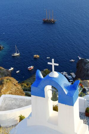 Santorini island, View from the cliff