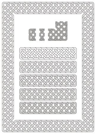 fretwork: adorno, nudo, alba�il, tallado, calado, grabado, frontera