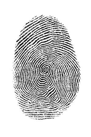 fingerprint Фото со стока - 24087395