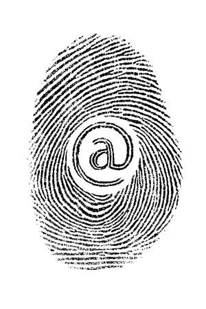 finger proof: fingerprint net