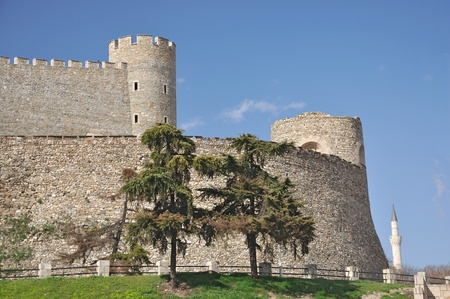 South walls of the Kale fortress in Skopje