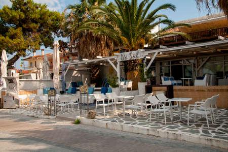 Traditional Greek tavern  photo