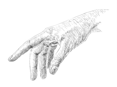 painterly effect: Hand Drawing