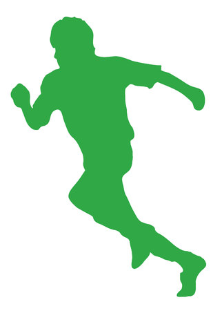 silhouettes: Running silhouettes