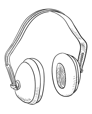 hearing protection: Headphones for ear protection