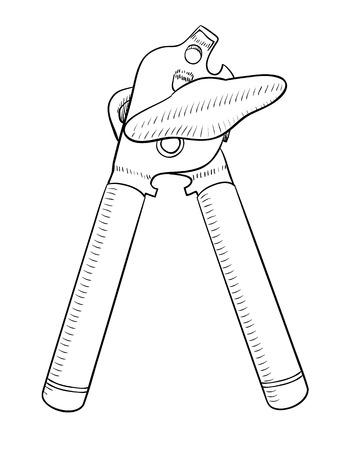 kitchen utensil: Can Opener