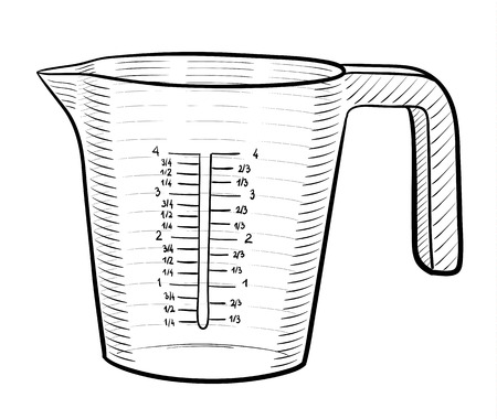 taza: La taza de medir Vectores