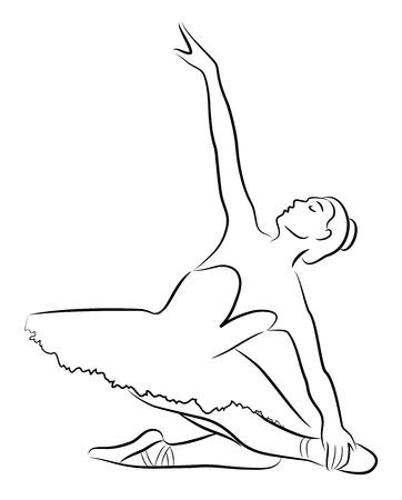 lyrical: Dancing ballerina