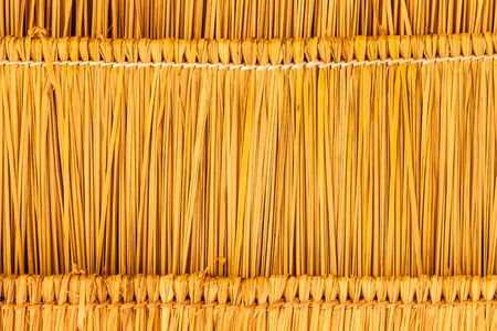 straw as textured background photo