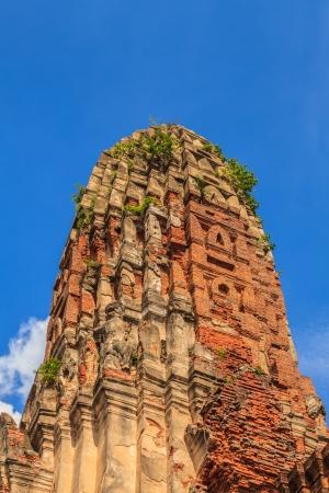 ayuthaya: Old Temple of Ayuthaya Stock Photo