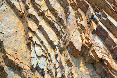 Colorful patterned texture of stone for background. 스톡 콘텐츠