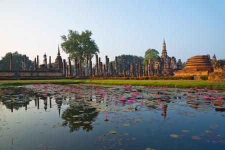 Sukhothai Historical Park,  Sukhothai , Thailand.