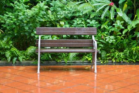 wet bench in the garden
