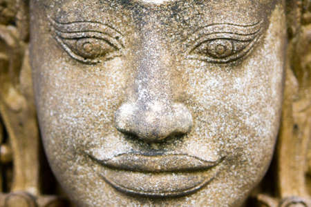 stone face  Stock Photo
