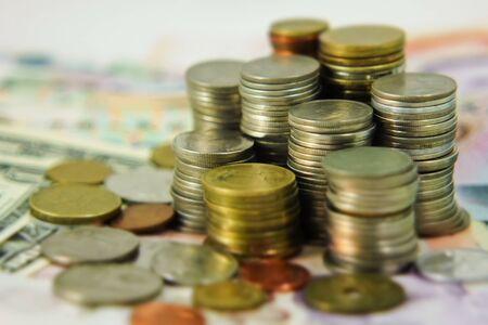 burr of money background
