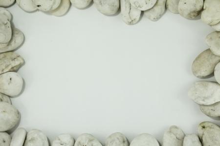 white stone frame Stock Photo