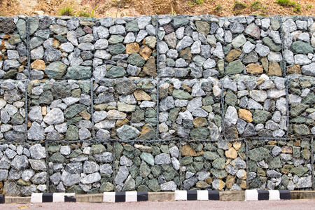 gabion mesh: Retaining Wall in thailand