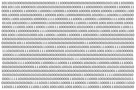 Abstract Technology Binary code Background.Digital binary data and Secure Data Concept on white background. 写真素材
