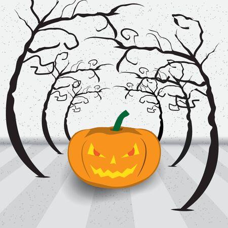background of  Halloween Jack-o-lantern  Vector