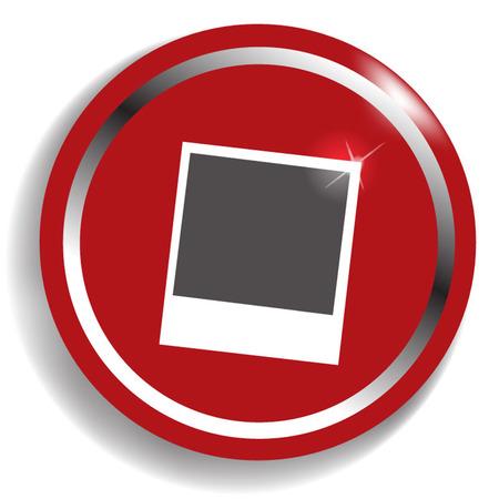 designator: iconos de foto Vectores