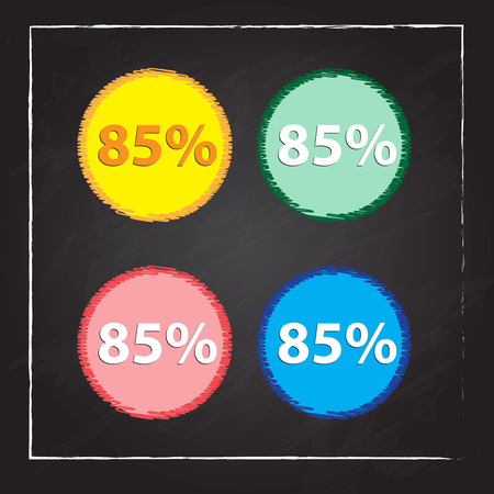 eighty-five percent, isolated 85%