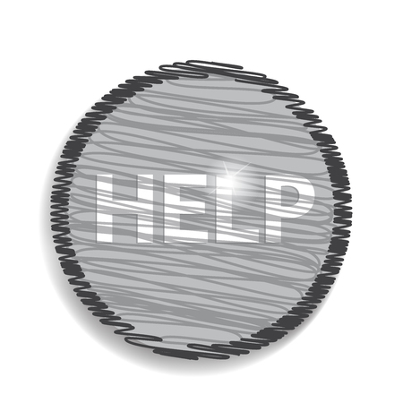 oncept: help icon