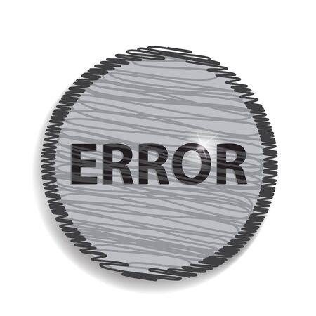 error: error circular icon