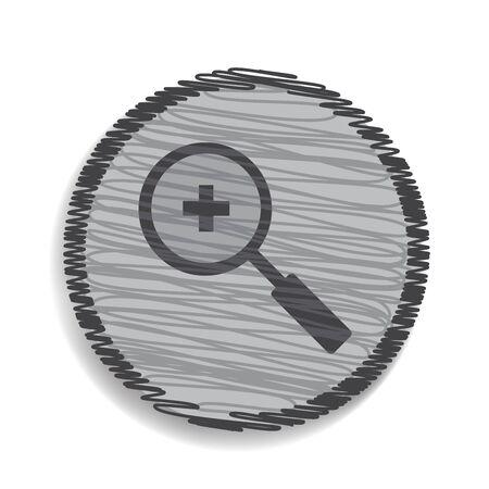 zoom in: icono de lupa zoom