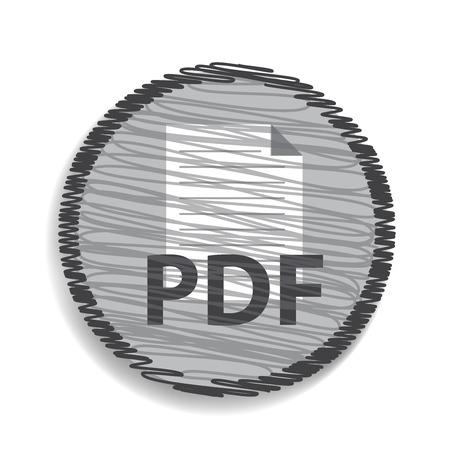 pdf: pdf blue button