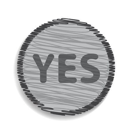 yes icon: yes icon Illustration
