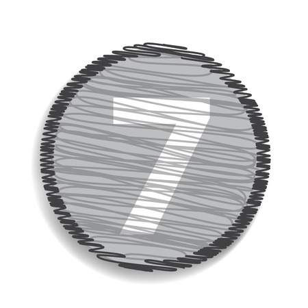 number 7: Number 7  icon
