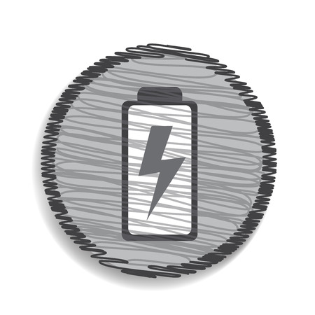Fully charged  battery icon Vector