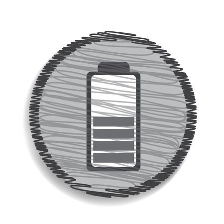 battery icon: battery icon Illustration