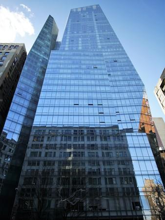 artdeco: New York City - April 2 2017. Luxury apartment building on Park Avenue