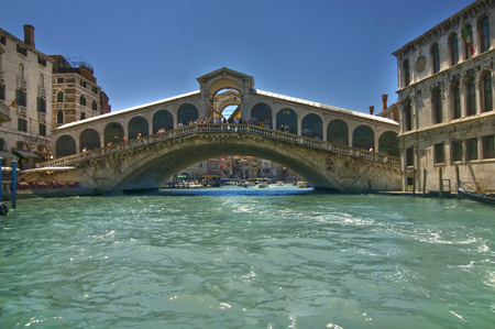 rialto bridge: Photo of Rialto bridge Stock Photo