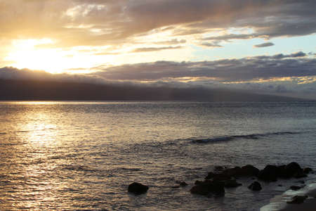 glistening: The sunlight glistening on ocean