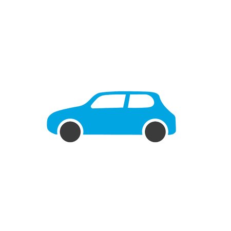 Vector car infographic template. Color vehicles icon sign, design for your illustration or information presentation Standard-Bild - 115208986