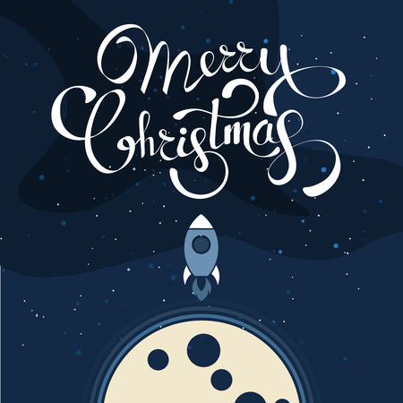 Christmas background greeting card. Vector color template with space illustration. Xmas holyday pattern ready for print Stockfoto - 127699940